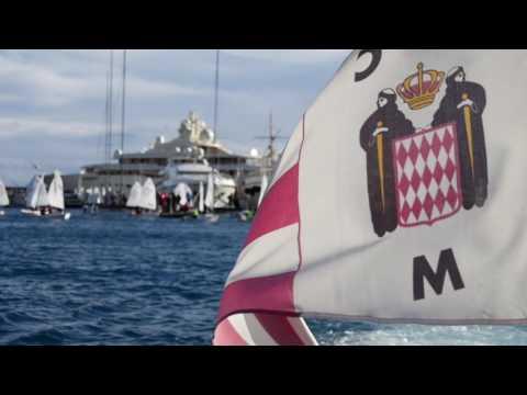 Monaco Optimist Team Race 2017 - Day 2