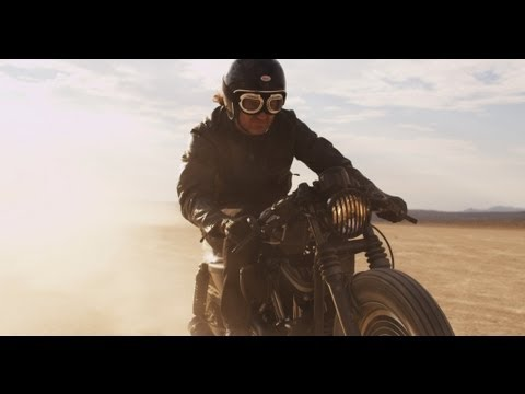 Roland Sands Design x Technics   Harley Davidson Sportster Custom Motorcycle | Video