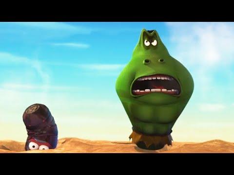 HULK & IRON MAN - Larva | Crazy Cartoons | WildBrain Cartoons