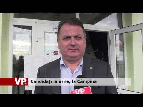 Candidați la urne, la Câmpina