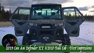 8. 2019 Can Am Defender XT HD10 Full Cab - First Impressions