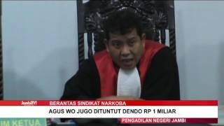 TERDAKWA TPPU HANYO DITUNTUT 3 TAHUN