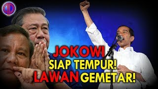 Video Jokowi Siap T3mpur! Keluarkan Sandi 'BB', L4wan Gemet4r! MP3, 3GP, MP4, WEBM, AVI, FLV Januari 2019