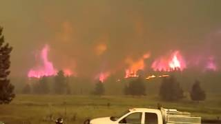 Okanogan (WA) United States  city pictures gallery : Okanogan Complex Fire