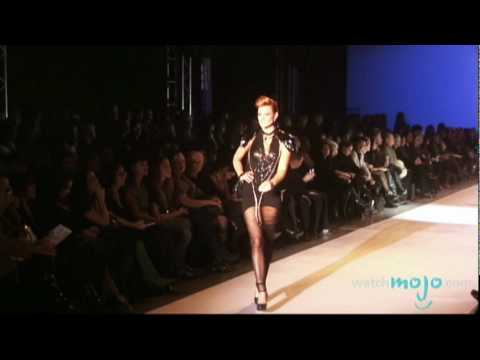 Models, Diamonds and Glam on the Catwalk