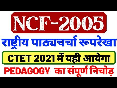 CTET 31 JAN NCF 2005 || राष्ट्रीय पाठ्यचर्चा रूपरेखा 2005 NCF 2005 CTET EXAM CTET NCF-2005