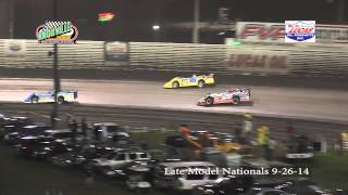 Knoxville Raceway Late Model Nationals 9-26-14