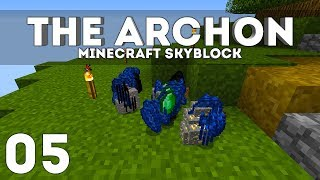 •The Archon Skyblock - Ep. 5: MEGA OP! (Minecraft 1.13.2)•