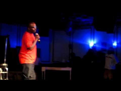 A.P. doing stand up comedy 4 the 1st time!