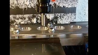 Dynamic Cnc Machining cutting a vertical keyway.