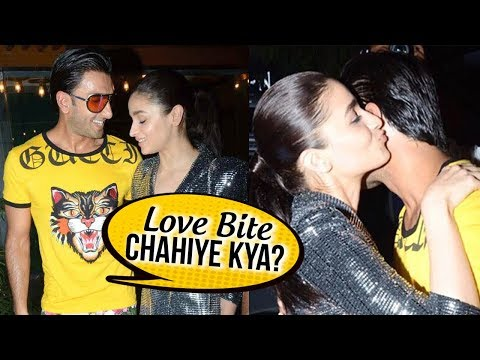 Ranveer Singh Gets NAUGHTY With Alia Bhatt And Med