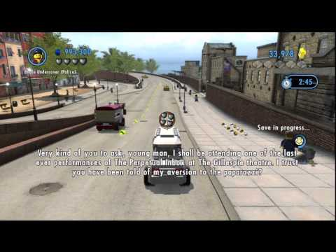 Lego City Undercover [Part 16] – Billionaire Chauffeurs and Bunny Stress Management!