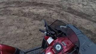 4. Polaris Sportsman ATV QUAD 850 HO Twin Two Up Touring EFI