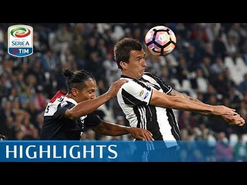 serie a 2016-17: juventus - cagliari 4-0 highlights