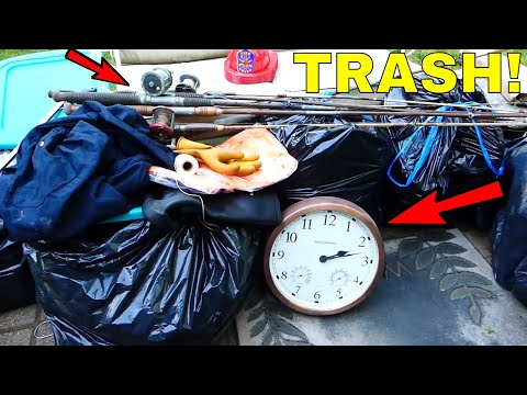 TRASH PICKING!!! Finding TREASURE!! This is so much FUN! (Part 1) (видео)