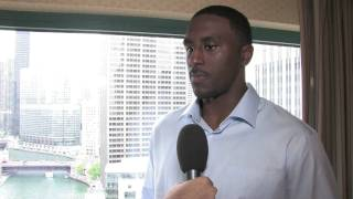Patrick Patterson NBA Draft Combine Interview - Part 1
