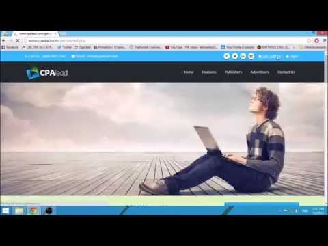 How to Make Money Online (CPA Networks, Website Building , Money Making)
