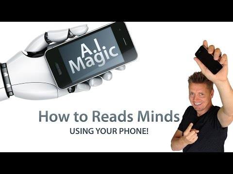 Cool magic trick using the phone