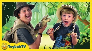 Alligators and Reptiles are everywhere! In this fun video for kids, Park Rangers Aaron and LB are visiting the East Texas Gators ...