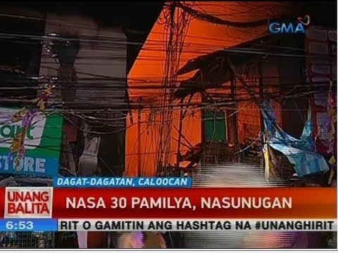 UB: Nasa 30 pamilya, nasunugan_Spacecraft videos