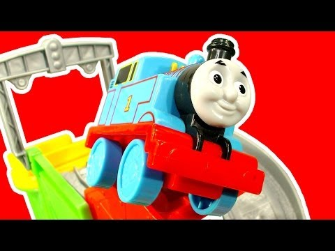 Thomas - Thomas & Friends toy train playset Action Tracks is designed for little Thomas The Tank Engine fans. This playtime educational toy includes a Thomas The Tank...