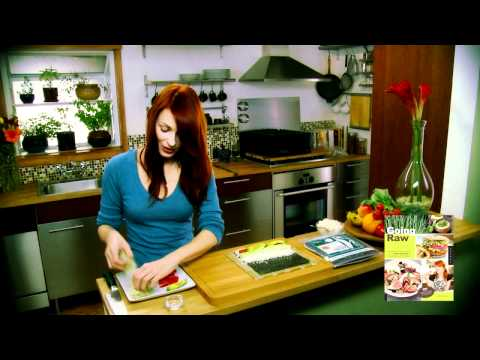0 How to Make a Veggie Sushi Roll By GreenChef Judita