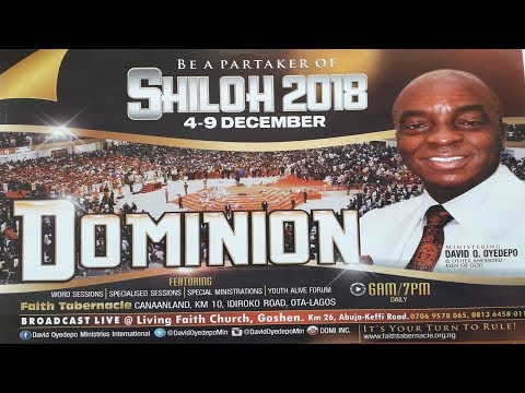SHILOH 2018 DAY 2: HOUR OF VISITATION ( MORNING SESSION) DECEMBER 05, 2018