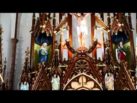 Igreja Matriz - Cerro Largo - Parte interna ...