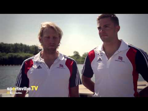 Olympic Gold Medal Rowers Andy Hodge & Pete Reed On Their Return To Home Waters & Heading For Rio