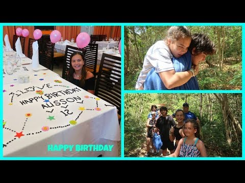 MY 12TH BIRTHDAY PARTY AT PUNTA CANA | SISTERFOREVERVLOGS #478