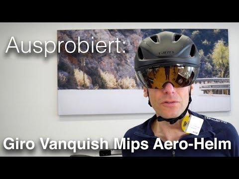 Der neue Giro Vanquish Mips Road-Aero-Helm Rennradhelm Modell 2018 (deutsch)