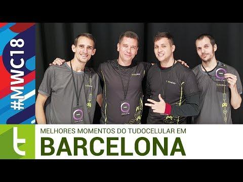 MWC18: melhores momentos do TudoCelular em Barcelona
