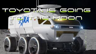 Toyota Is Going To The Moon