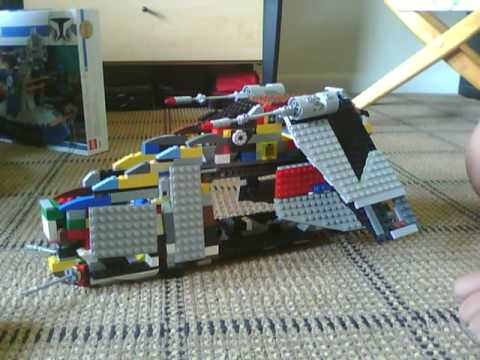 Lego Star Wars Custom Republic Gunship Lego Star Wars Custom Republic
