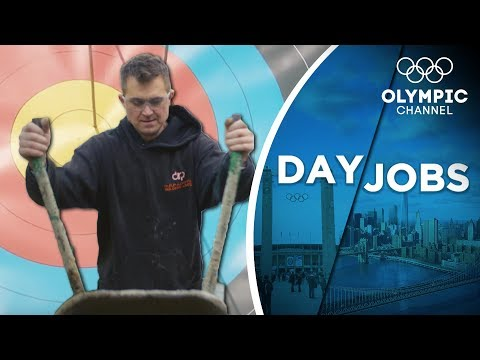This Zimbabwean archer stays fit with his job as a builder   Day Jobs