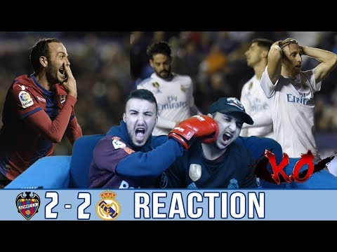 REAL MADRID WHAT IS THIS ?!?!?!? | Levante 2-2 Real Madrid | REACTION / REACCIONES