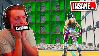 I found this IMPOSSIBLE Cizzorz map... *HARD* (Fortnite Creative)