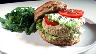 VIDEO RICETTA - Hamburger di ceci alle verdure