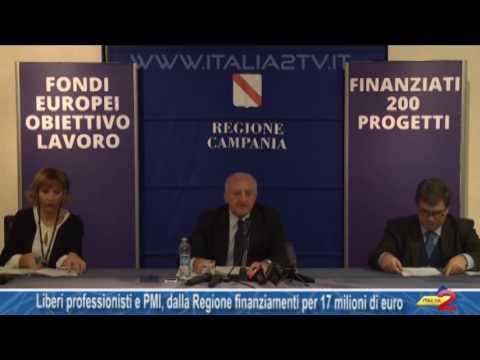 Liberi professionisti e PMI, dalla Regione finanziamenti per 17 milioni di euro