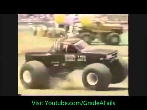 Truck Crashes and Police Bloopers Compilation 2013