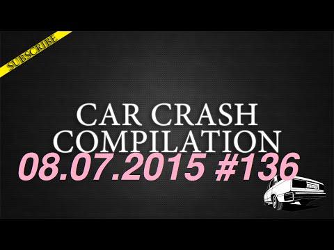 Car crash compilation #136 | Подборка аварий 08.07.2015