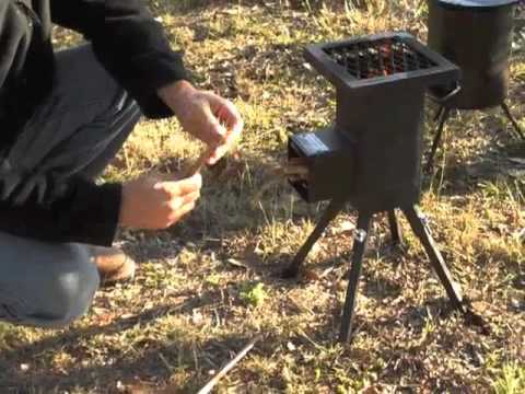 stove - Mark reviews the Deadwood Stove, an efficient and portable outdoor stove that uses biomass fuels.
