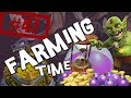 Farming time - Robo 550k de oro en 15 minutos - Descubriendo Clash of Clans #47 [Español]