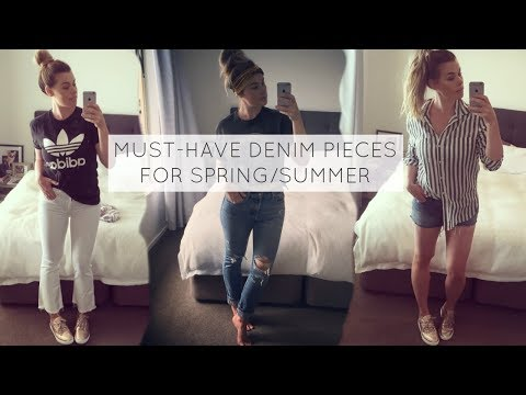 Clothing Haul + Try On! Must-Have Denim Pieces for Spring/Summer