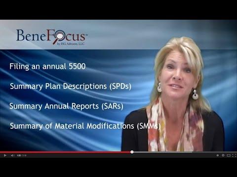 BeneFocus: ERISA Reporting Requirement