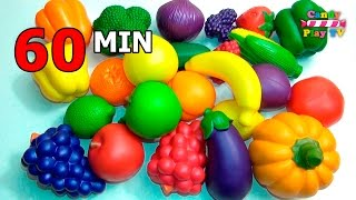 Video TOP Learn Names of Fruits and Vegetables Toy Collection | Learn To Count Vegetables Toys Compilation MP3, 3GP, MP4, WEBM, AVI, FLV Desember 2017