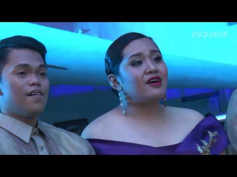 Leron, Leron Sinta - Philippine Madrigal Singers live at Inquirer (видео)