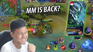 Video MOSKOV DI BUFF MM IS BACK?! - Mobile Legends Indonesia MP3, 3GP, MP4, WEBM, AVI, FLV Oktober 2017