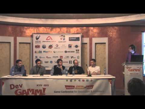 Круглый стол: Руководство по выживанию инди-разработчиков (DevGAMM Kyiv 2013)