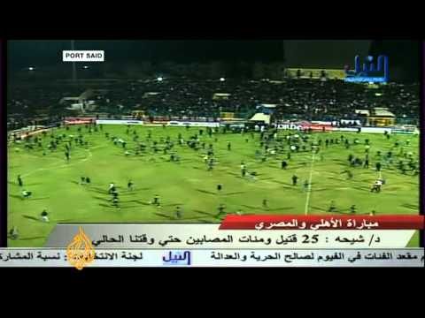Al Jazeera's Rawya Rageh reports on Egypt football violence